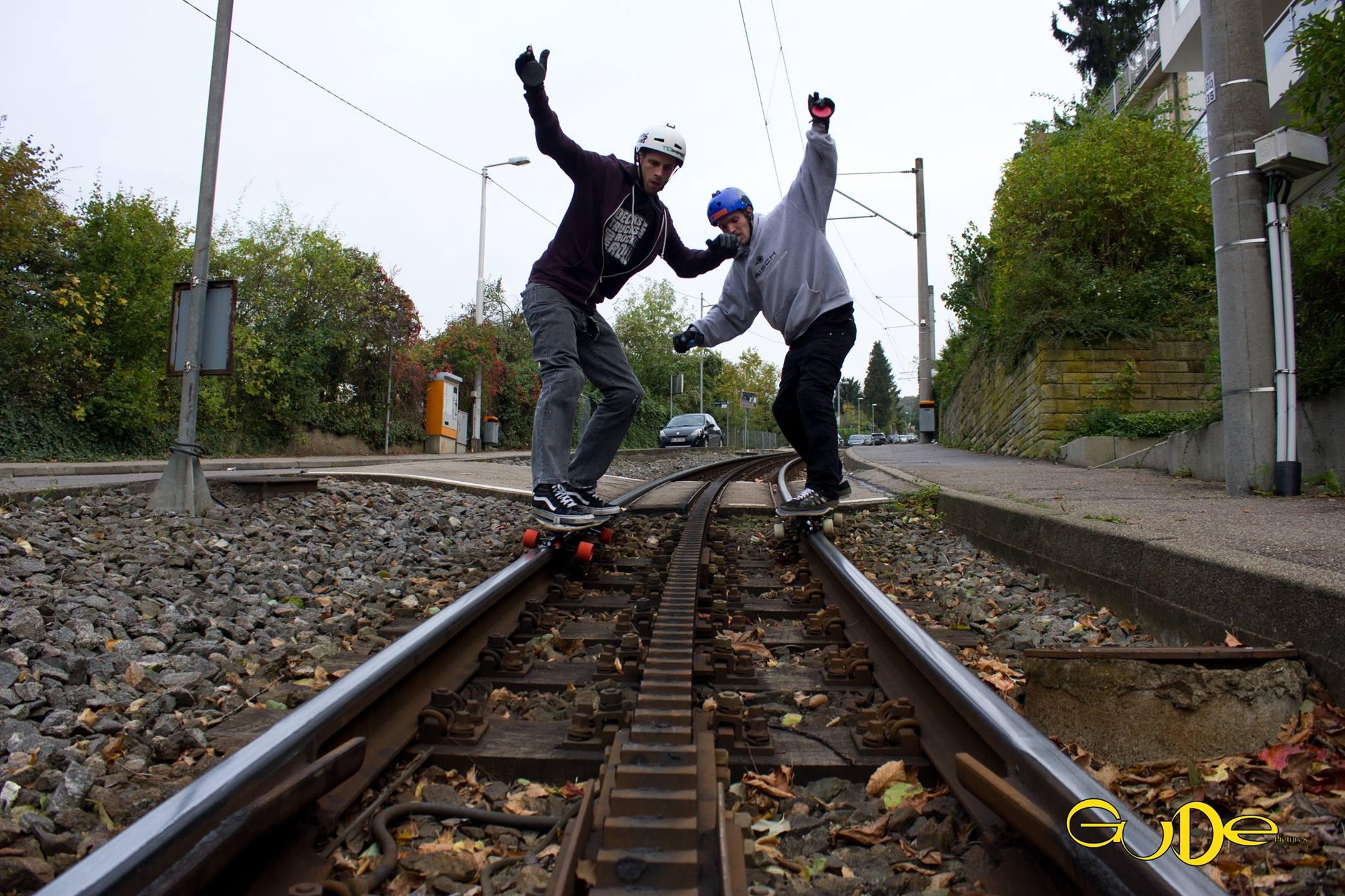 like riding rails